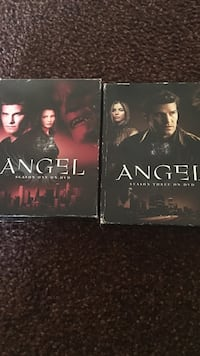 Two angel dvd cases Lancaster, 93534