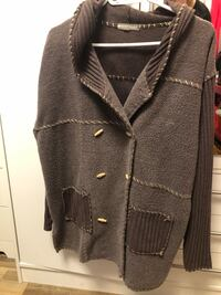 Taupe button-up jacket XL Kelowna, V1Y 3Z6