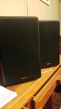 denon left and right speakers Beaumont, T4X 1B3