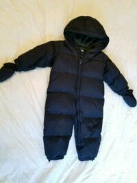 Baby Gap snowsuit purchased New for $89. In new co Toronto, M4W 1A8