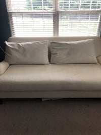 Pottery barn couch / cream / needs to be reupholstered  was 3500 brand new Chadds Ford, 19317