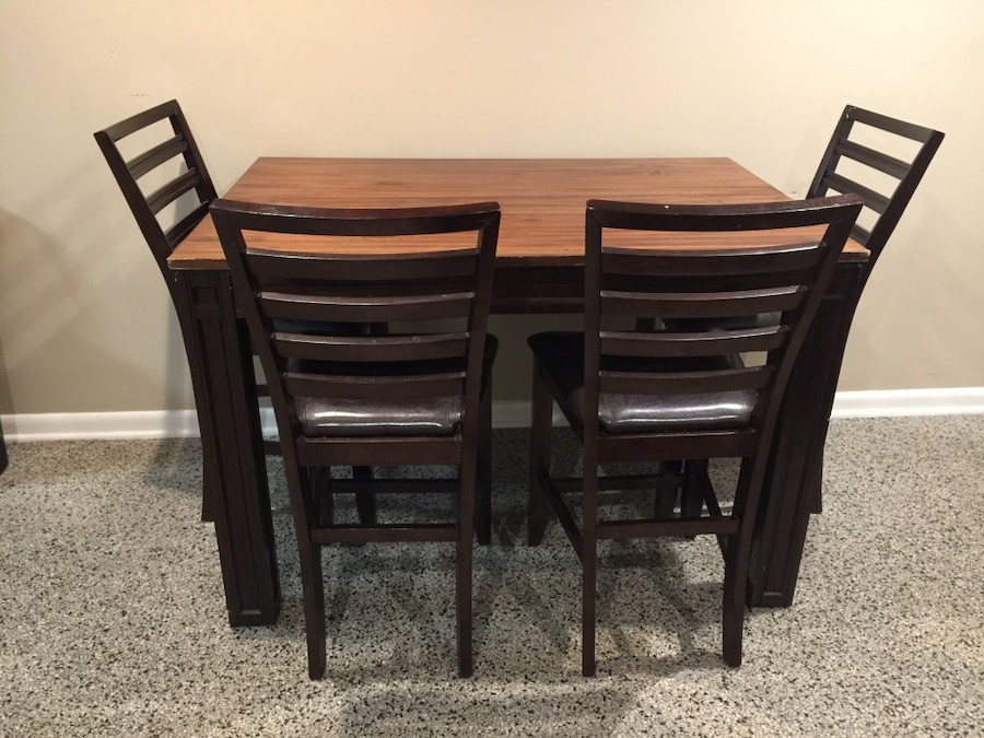 brukt brown wooden dining table set til salgs i delray beach letgo rh se letgo com