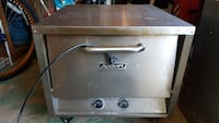 stainless steel Adcraft kitchen appliance