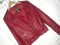 red leather zip-up jacket Las Vegas, 89107