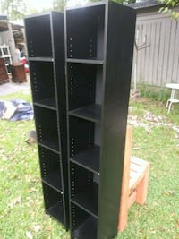 Shelves 1 x 1 and 6 foot tall 30 each 2 for $50.   Atlanta, 30318