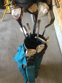 Men's r.h full set of clubs, bag 3 dozen balls Edmonton, T5Z 0A6