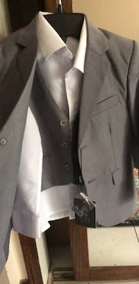 Boys Grey Suit Mississauga