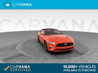 2018 Ford Mustang Convertible EcoBoost Convertible 2D Red