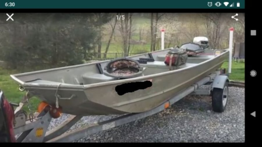 16' Sea Nymph + Motor and Extras 0