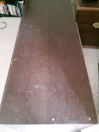brown wooden table with drawer Winnipeg, R2V