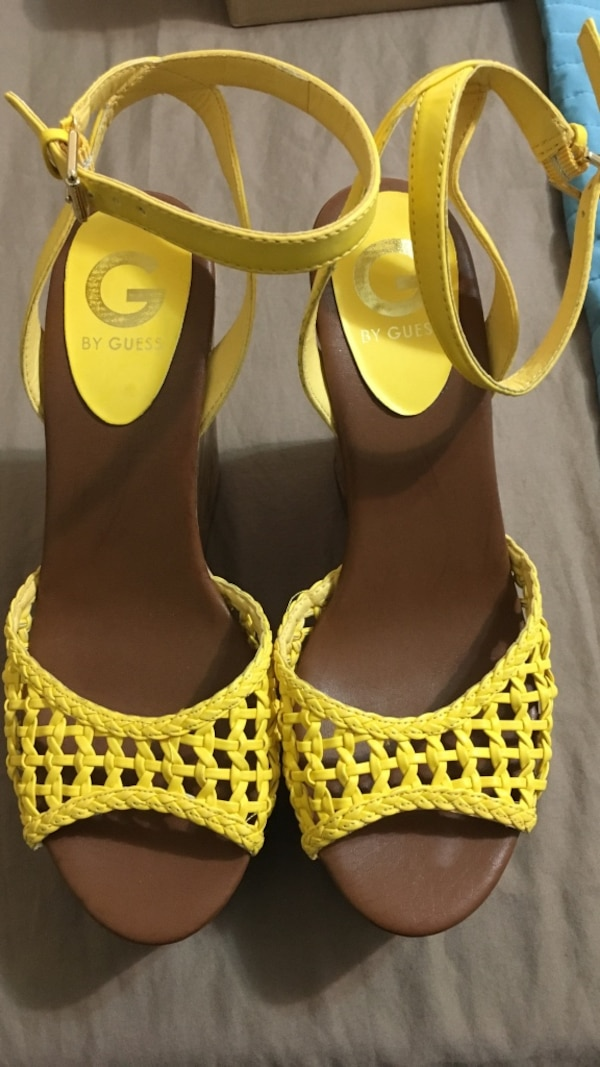05d483cd333aa3 Used Guess Yellow Sandals size 8.5 for sale in New York - letgo