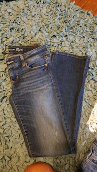 blue denim straight cut jeans Copperas Cove, 76522