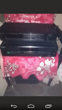 Sony receiver and 5 disc changer Las Vegas, 89104