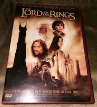 Lord of the Rings - The Two Towers Fullscreen DVD set of 2 Columbia, 21046