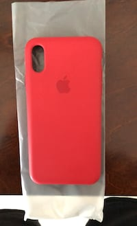 Genuine iPhone X/XS Product Red Silicone Case Calgary, T2Z 2J7