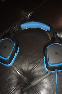 Logitec gaming headphones
