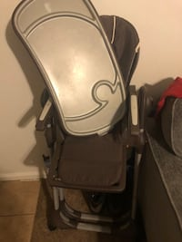 Rolling high chair