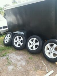"Nissan set 18"" with NITTOS Fort Myers"