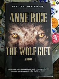 The Wolf Gift paperback book  San Diego, 92124