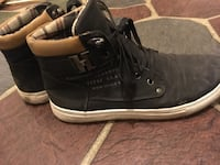 Black and Brown Casual High Tops Surrey, V3V 5Y4