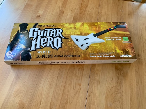 Guitar Hero Wired Explorer Guitar for Xbox 360