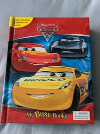 Cars Busy book