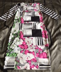 Bold Printed Bodycon Dress!!!  Toronto, M9N