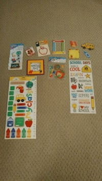 Scrapbooking stickers and embellishments London, N6G 4Z6