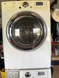 LG stackable dryer works great! Washer for parts only. Boca Raton, 33434