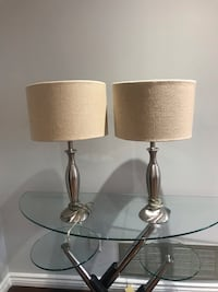 Two table lamp like new Richmond Hill, L4C 9J7