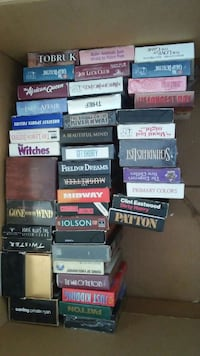 assorted vhs tapes Sidney, 04330