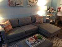 Like new grey couch Mississauga, L5C 3M7