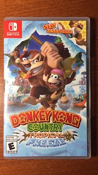 Donkey Kong Country: Tropical Freeze - Nintendo Switch Greater Vancouver, V6S