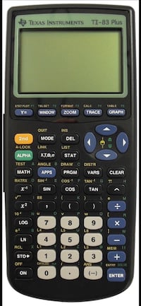 TI 83 graphing calculator with batteries in great working condition  51 mi
