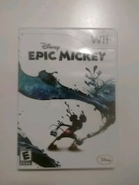 Epic Mickey for Nintendo Wii Markham, L3P 2G7