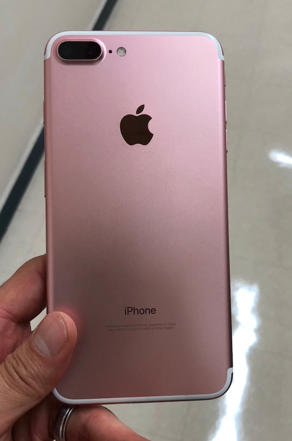 rose gold iphone 7 plus factory unlocked 32gb 7 pink usado en venta en new york letgo