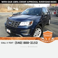2016 Ford Explorer Stafford, 22554