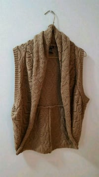 brown cardigan vest Kitchener, N2M 4Y2