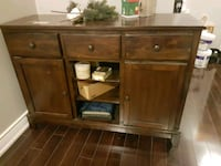 Solid wood server /buffet /side table  Pickering