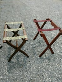 two brown wooden framed brown wooden chairs Summerdale, 36580