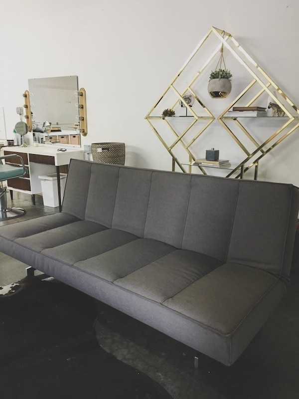 Used Trendy Flex Gravel Sleeper Sofa From Cb2 Com For Sale In Los