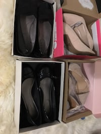 Lot women's shoes high heels pumps sandals size 9 - take all 10 pairs Aldie, 20105