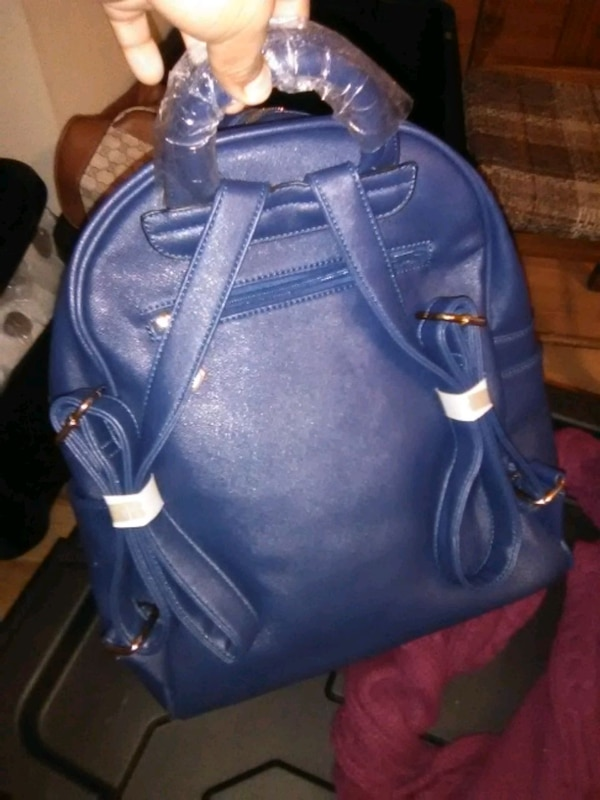a4c583c66400bd Used blue Michael Kors backpack for sale in Chapel Hill - letgo