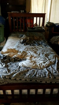 two brown and black floral bed sheet Beaverton, 97008