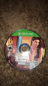 Grand Theft Auto Five Xbox One game disc Kyle, 78640