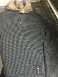 black and white knitted sweater Toronto, M3N 1A2
