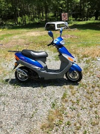 blue and black motor scooter Moseley, 23120