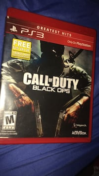 Call of Duty Black Ops PS3 game case Carthage, 64836