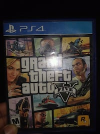 Grand Theft Auto Five PS4 game Montgomery