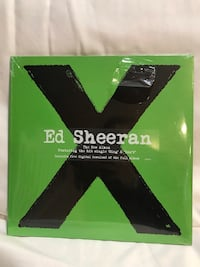 Ed Sheeran Vinyl Album